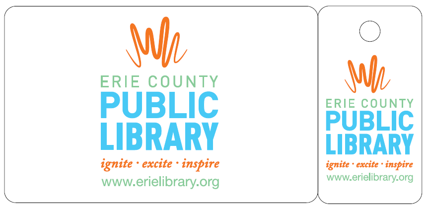 Erie County Library Card Sample
