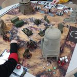 Comic Con Gaming Table